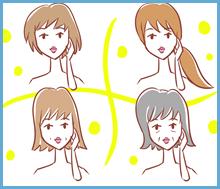 年代別で選ぶ、オススメ女性育毛剤