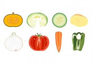 食生活の乱れは野菜不足で解消